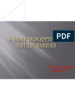 A Brief Description of NDT Techniques - Copy