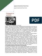 Pedagogia Do Oprimido ( Paulo Freire )