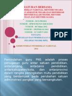 Peraturan Bersama Lima Menteri1