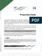 24.Chapitre 18 ( Préparation final )