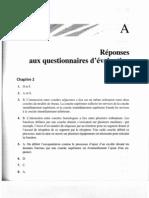 26.Partie A (Réponses aux questionnaires d'évaluation )