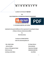 Big Bazar Project Report