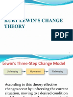 KURT LEWIN'S CHANGE THEORY copy