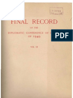 Geneva Conventions 1949 - Travaux préparatoires -Final Record Volume III