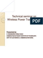 Wireless Power Tran Ppt