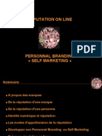 Self Marketing et réputation en ligne