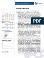 Kenyan Banks_A Critique to System Credit Risks_System NPLs Defying Logic but Regulators Need to Mind the Gap