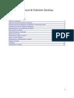 02 Installing Oracle BI Publisher Desktop