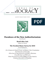 Paradoxs of Autoritarianism Krastev