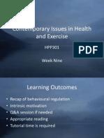 HPP301 Week Nine Slides