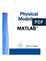 Downey (2011) - Physical Modelling With Matlab