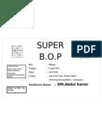 Super BOP babat 8 April 2012