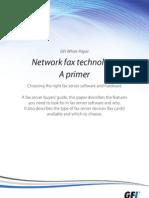 Network Fax Technology