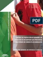 centros de protección de menores en situación de desamparo que presentan trastornos de conducta en Andalucía