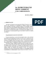 Teoria Estruturação - Anthony Giddens