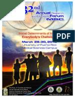 Foro Anual Investigación UPR -RCM 2012