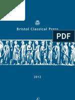 Classics Catalogue 2012