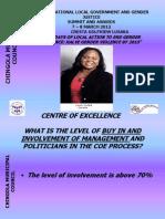 Zambia COE Chingola Municipal Council