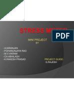 Stress Meter Ppt