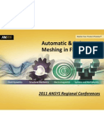 ANSYS 14 Meshing Automatic Robust Meshing