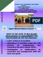 Zambia Kapiri Mposhi District Council COE