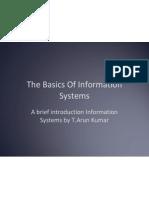 Basics of Info