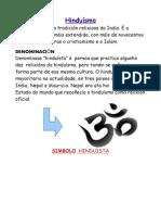 Tarefa 3diferencias Entre  Budismio -l Hinduísmo-