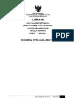 Permenpan No 34_2011 Ttg Pedoman Evaluasi Jabatan