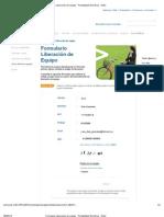Formulario Liberación de equipo - Portabilidad Numérica - Entel