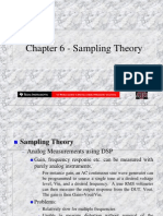 Chapter 6 - Sampling Theory