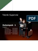 Presentasi Teknik Supervisi