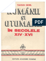 Tahsin Gemil-Românii şi otomanii în secolele XIV-XVI