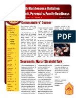 4th Maint Bn Newsletter - Spring 2012