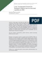 Francesco Screti_El ojo y la zeta. La propaganda electoral de José Luis Rodríguez Zapatero