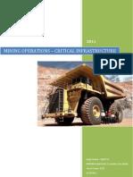 Mining Operations - System Analysis