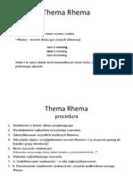 Thema Rhema i Inne Techniki