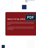 Oracle to SQL Conversion