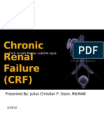 Chronic Kidney Disease - SISON, JULIUS