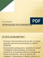 Introducere în Econometrie