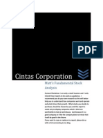 CTAS Investment Analysis