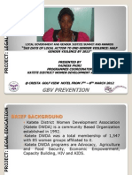 Vainess Phiri, Katete District Women Development Organisation