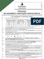 PROVA 25 - FISICO(A) - BLINDAGEM E PROTEÇÃO RADIOLÓGICA