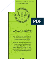 Kovacs' Notes