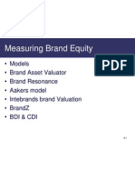 Brand Equity - Models CBS 23 24 07