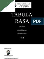 TABULA RASA - catalogo