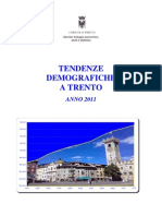 La popolazione a Trento