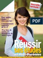 Réussir ses études en Midi Pyrénées 2012