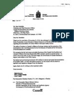 Final Electronic Response File (NR-019-2011)