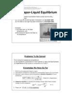 7 1. Vapor Liquid Equilibrium