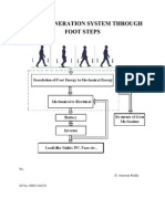 Power Generation System Through Foot Steps1